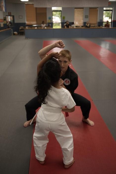 deb karate with savi 2