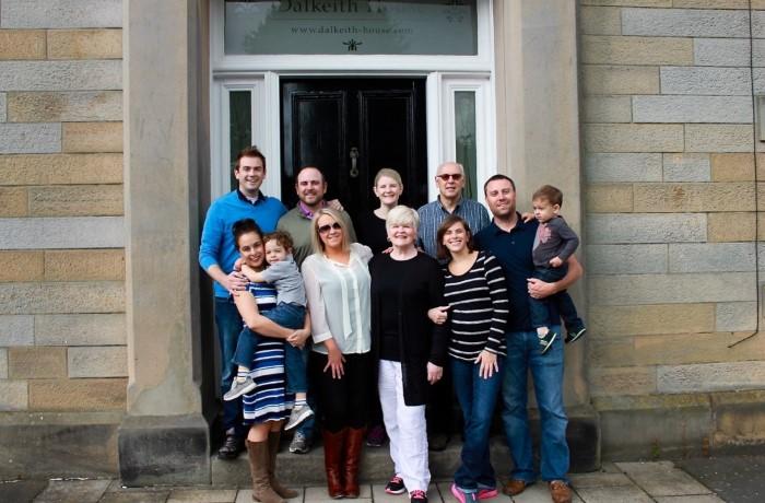 Family trip to Scotland