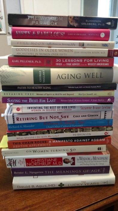 Lynne's books on aging